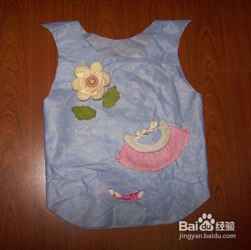 环保袋手工衣服_亲手给女儿制作了一套环保衣服 - 动手网