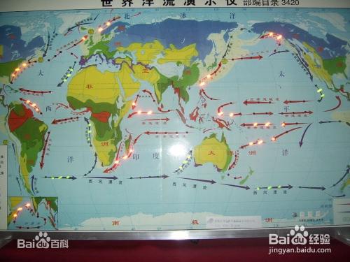 世界洋流分布模式图_世界洋流分布模式图_百度经验