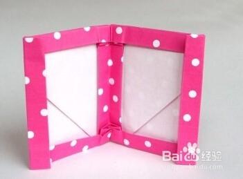 手工折紙自制相框圖解制作教程圖片