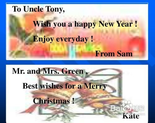 送给老师的新年贺词_给英语老师的贺卡怎么写_百度经验