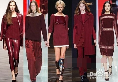 类似色服装_女性服装搭配颜色选择全攻略