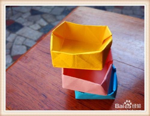 用纸叠垃圾桶_垃圾桶的折法 简单纸盒子怎么折(图解)_百度经验