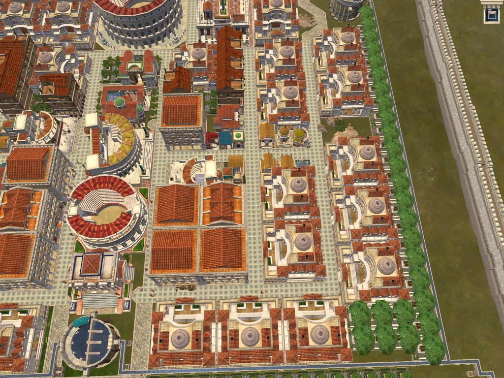凱撒大帝4,城市布局與羅馬建設圖片