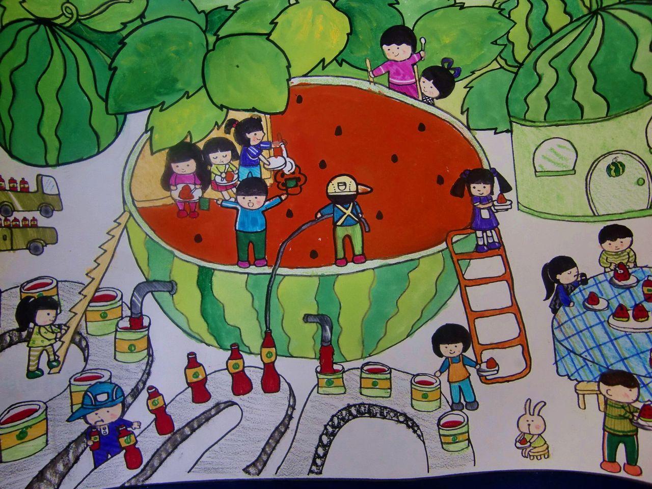 小学生画画大全_环保画获奖作品图片_环保画获奖作品图片下载