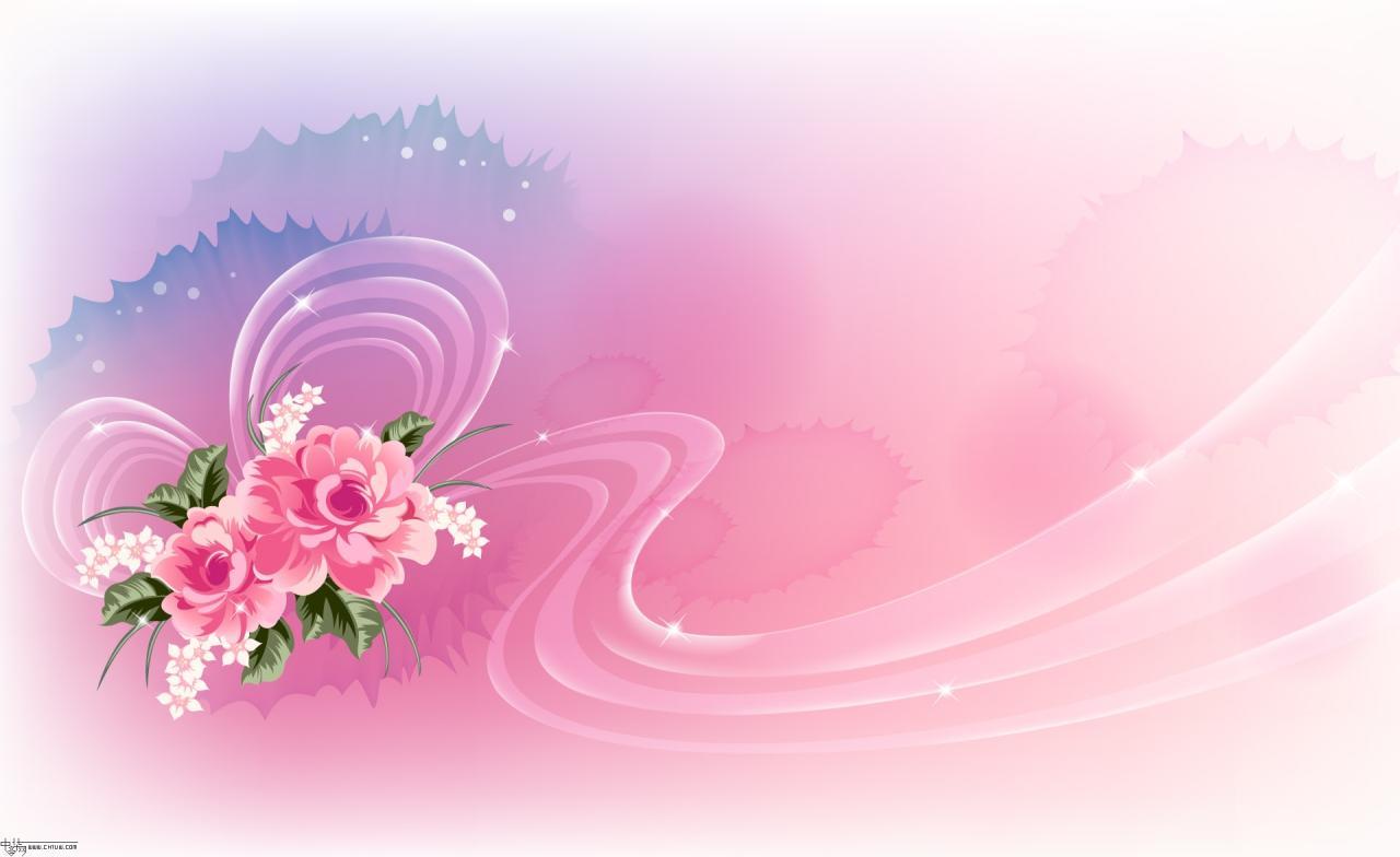 Wall Paper Wide Pink Rose Colours Soft Nature Flower: 【靓图地带】梦幻花卉壁纸_蝈蝈的小窝吧_百度贴吧