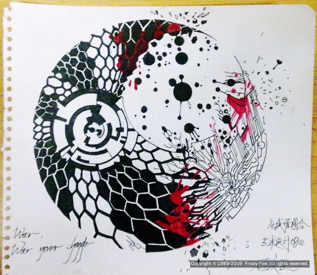 点线面色彩构成作业_点线面构成设计作业图_点线面构成设计作业图分享展示