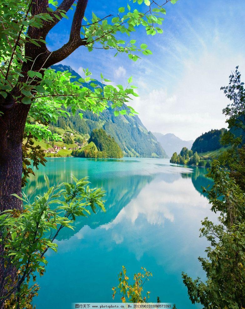 世界最美山水风景图片 最漂亮的山水风景图片_真实