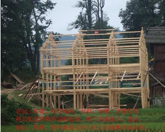 毕节农村房子_教你设计木结构房子和木结构房屋成本计算图片