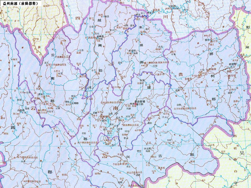 三国详细地图全图高清版_【历史地图】之 三国 全图图片