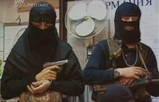 新疆和田斩首16女兵_事件的车臣黑寡妇图片