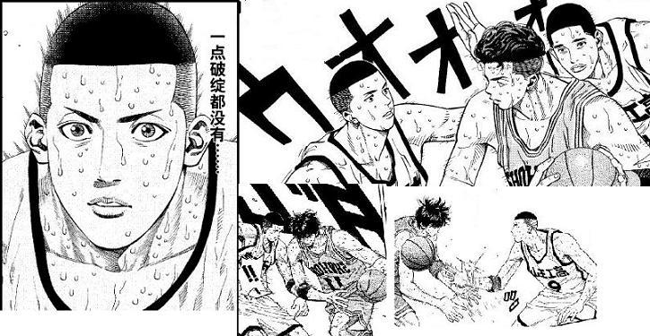 澤北優_组织后卫的控球技术,这使身体素质出众的泽北在防守时占尽优势.