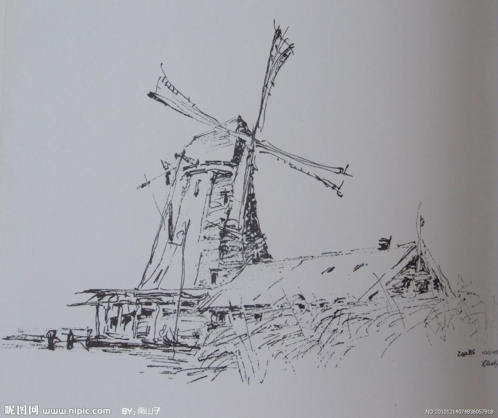 钢笔画_首页_百度空间