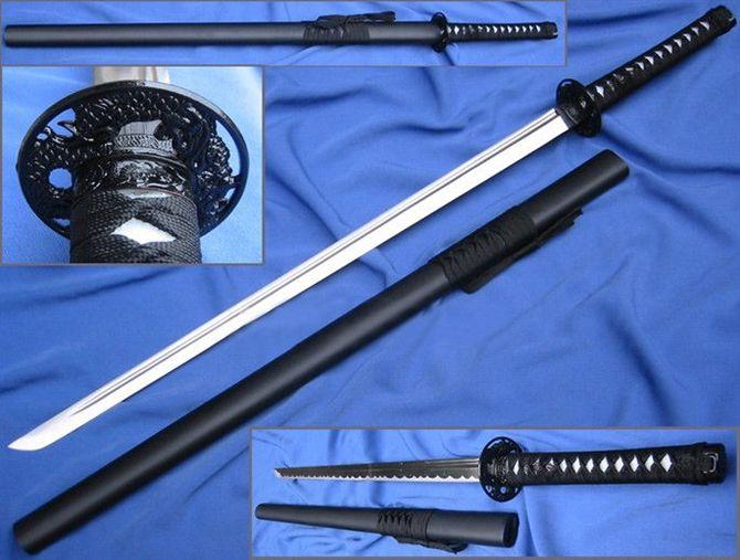 日本武士刀_关于中国的唐刀和日本的武士刀!!!!!!!!【新宿事件吧
