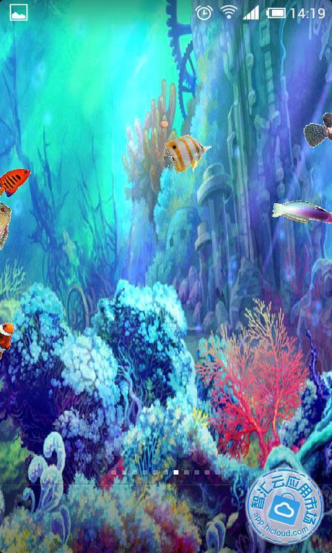 会游动的鱼壁纸_会动的手机壁纸 _网络排行榜