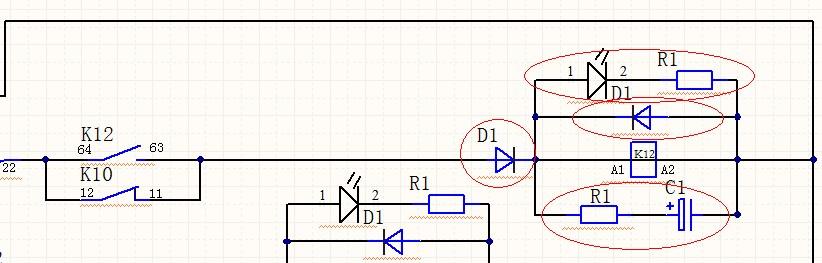 電源與電阻串聯后并聯一個電容,對外輸出電壓是否是從圖片