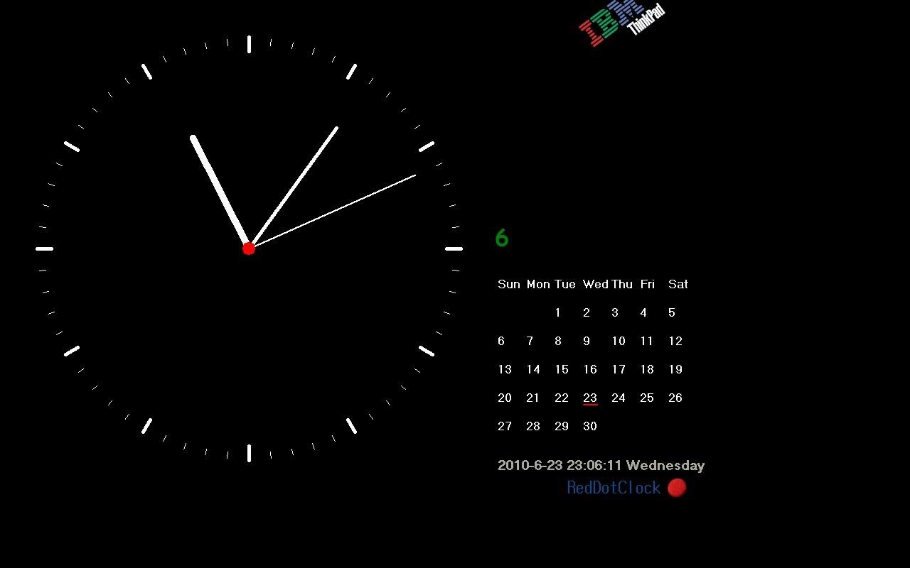 xp动态时钟屏保下载_IBM时钟壁纸_百度知道