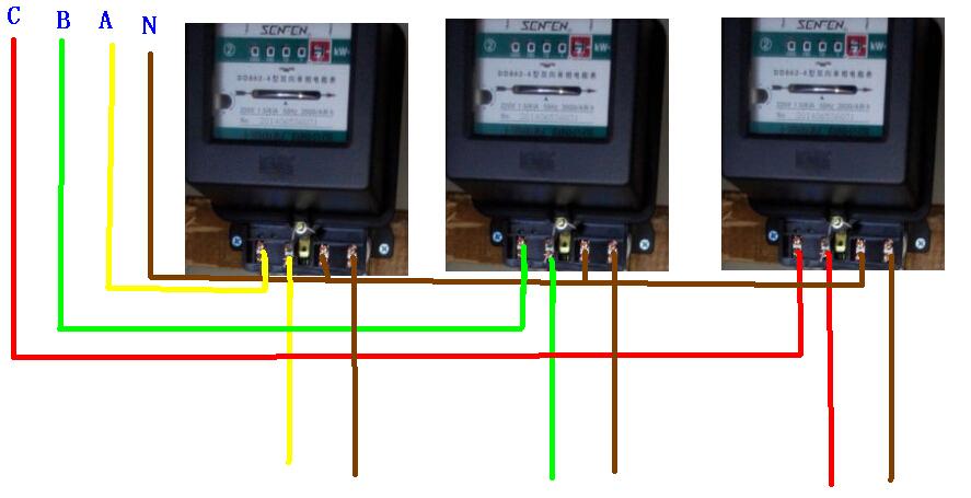 单相电表互感器接法_电表接法图片_电表接法图片下载