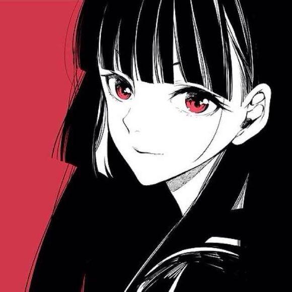 动漫女生帅气酷头像_求酷点的女生动漫头像。最好主色为黑色。_百度知道