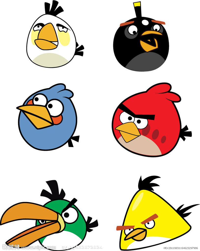 游戏愤怒的小鸟_愤怒的小鸟图片_百度知道