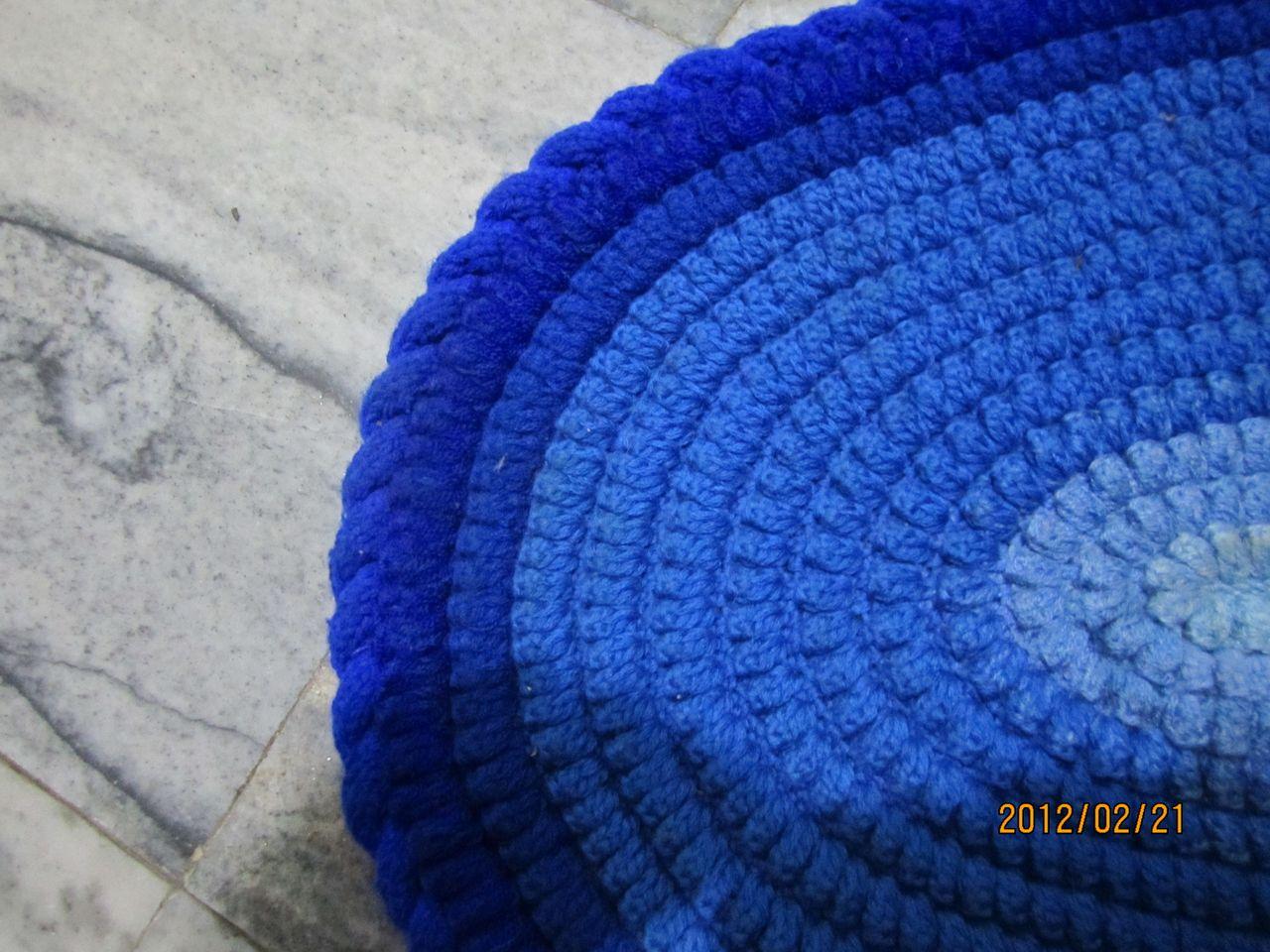 毛线钩坐垫图案_手工钩针编织坐垫 - 第2页