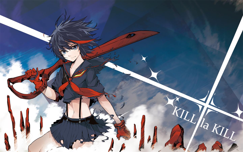 女优愹la_kill la kill 高清壁纸 1440*900有吗?