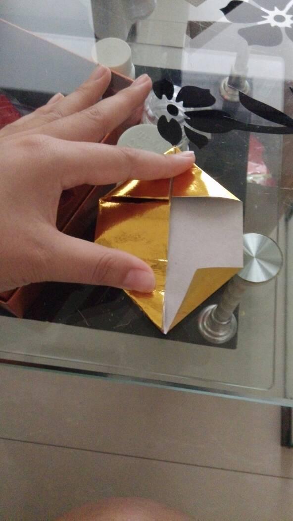 元宝长方形_【长方形纸元宝叠法大全图解】纸元宝详细折法图解_名人网
