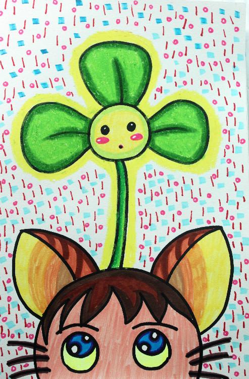幼儿简易图画大全_16K纸的儿童画 简单好画_百度知道