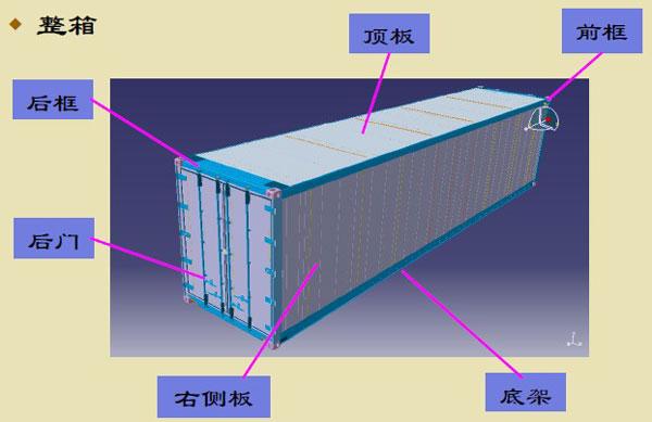 集装箱房子的结构图纸_20尺集装箱平面图 _网络排行榜