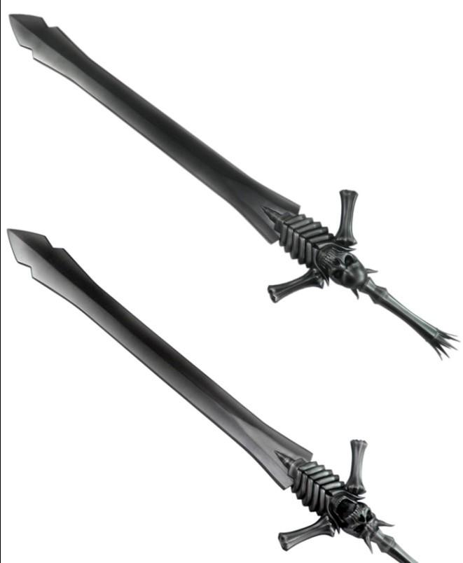 不灭剑体有声小�_鬼泣 但丁的剑 有卖金属做的吗