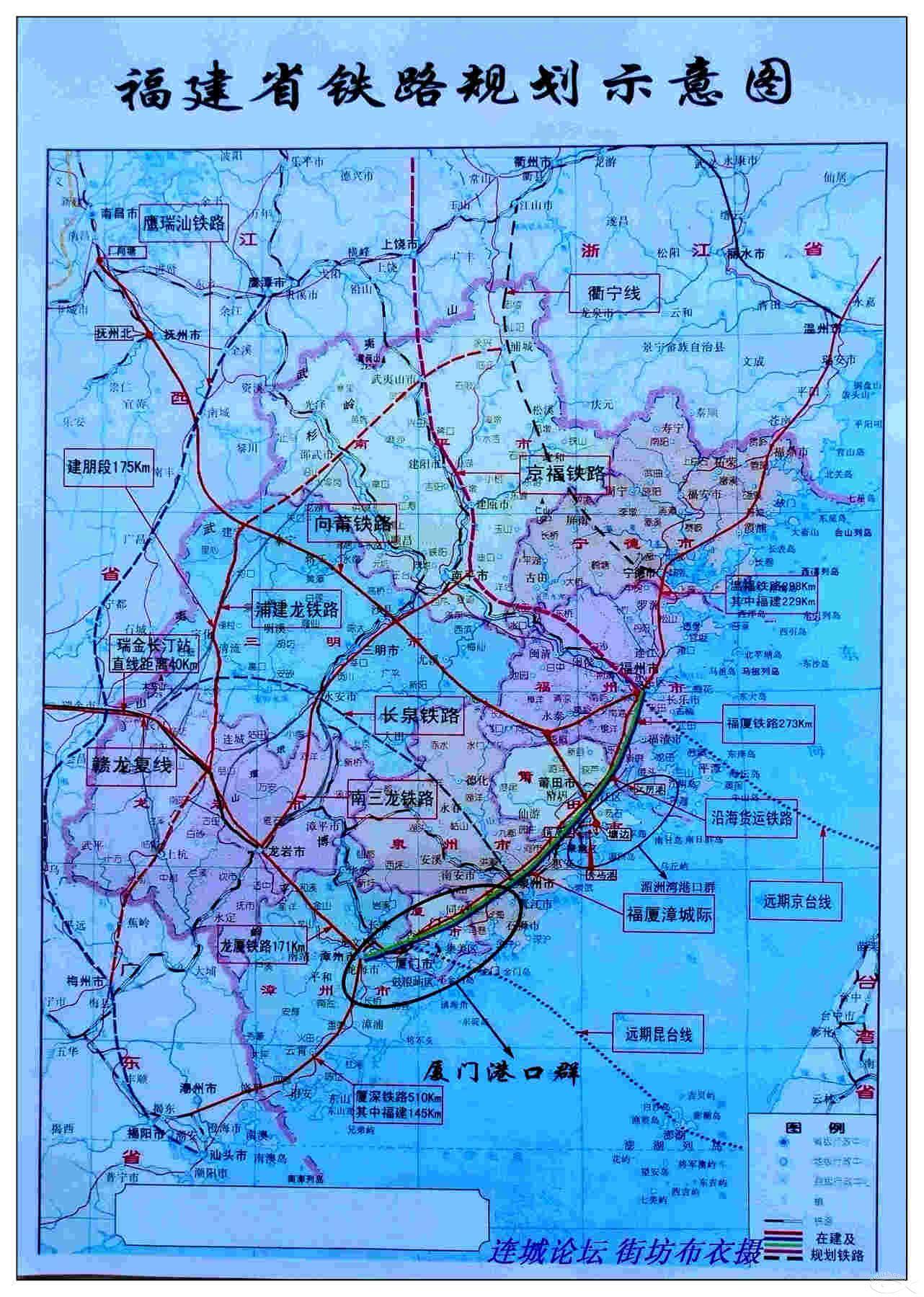 广西玉铁高速公路图_请问现在福建预建或者在建的高速、铁路有哪些?有具体的规划 ...