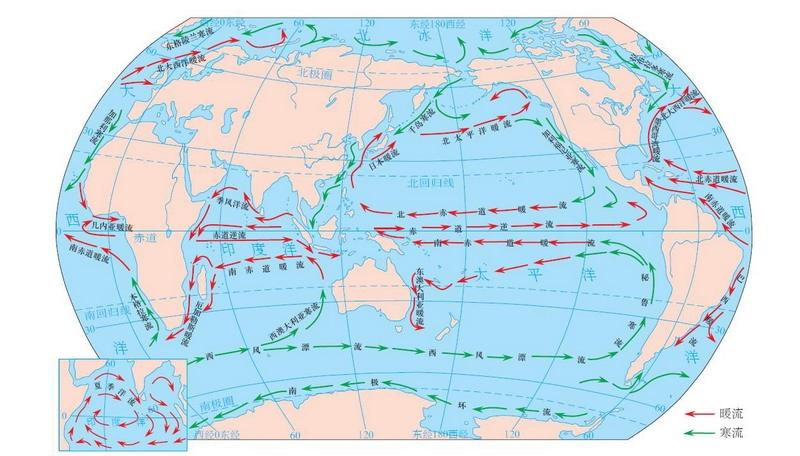 寻求世界表层洋流分布图(要图片哦)寻求世界表层洋流分布图(要图片哦)