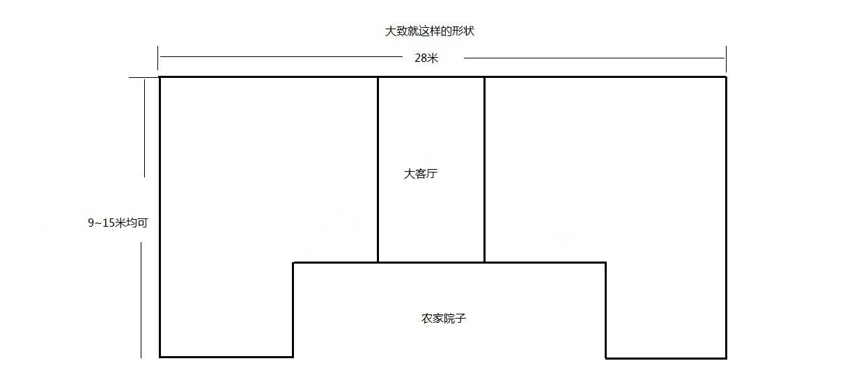 農村小平房設計圖大全-農村一層平房圖紙大全/農村自建平房設計圖圖片