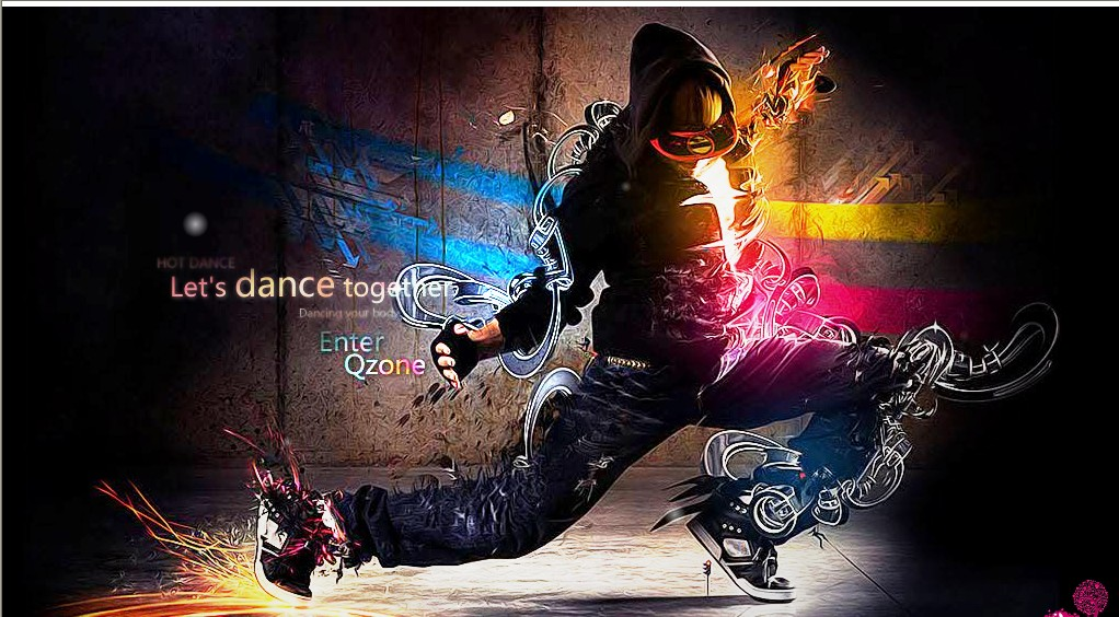 qq空间动画音乐_QQ空间动画装扮里炫动舞步的背景音乐是什么歌?_百度知道