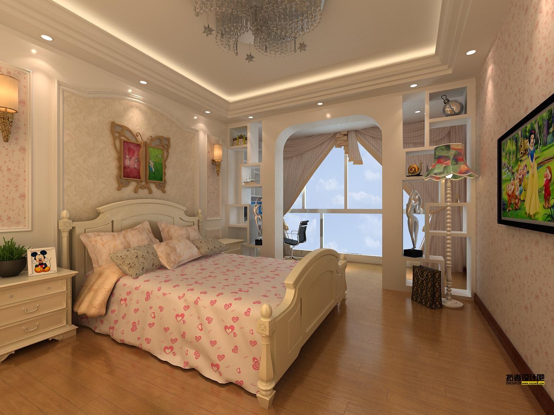 主卧背景墙纸效果图_女生的卧室装修,想要采用温馨的风格,壁纸只用一种花色还是 ...