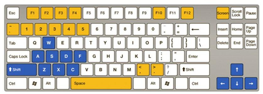 电脑键盘全图清楚的_求一张电脑键盘高清示意图,每个键都清晰可见的那种_百度知道
