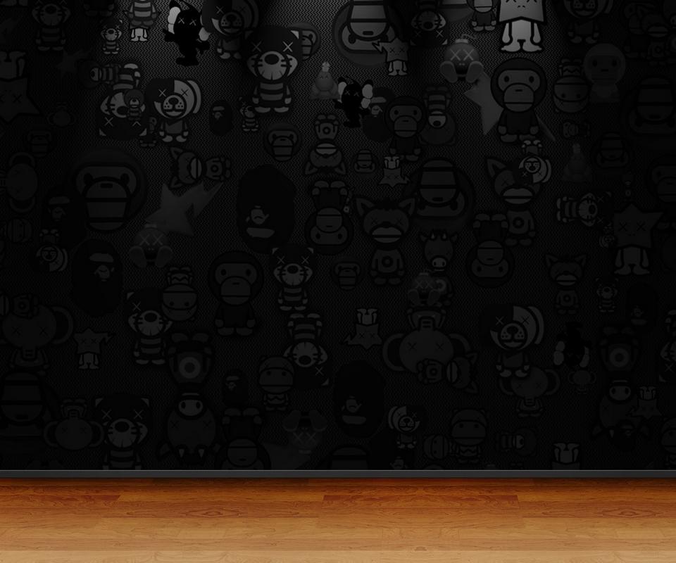 鹅毛大雪赤身裸体跪求这张BAPE的高清壁纸1280x800以上,哪位好心人有的给个地址!_百度知道