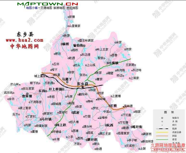 江西省抚州市东乡县_求给一张大抚州或抚州东乡县的行政区划图。急。。。_百度知道