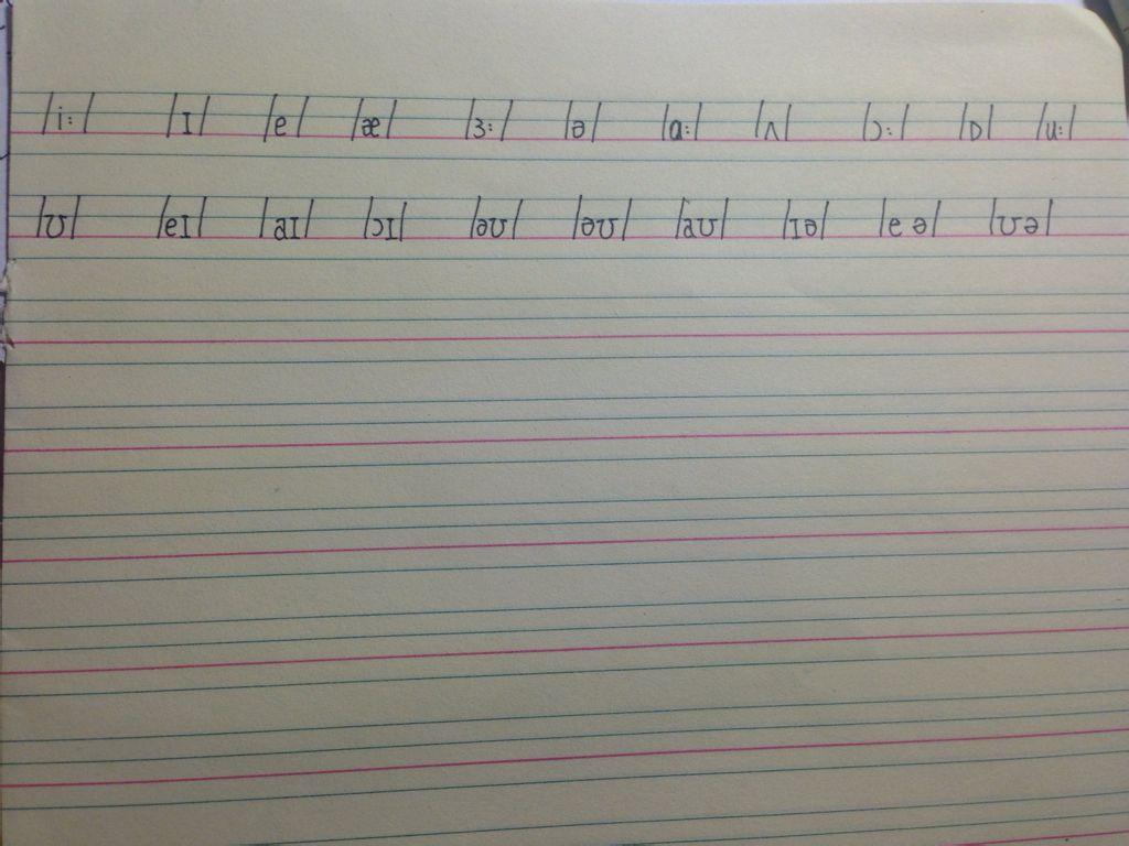元音 追答: 那個我把輔音也發了 20個元音是齊的,有些在前面字母發音圖片