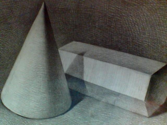 三棱柱素描图片_求三棱锥和六棱柱的组合体素描图片_百度知道