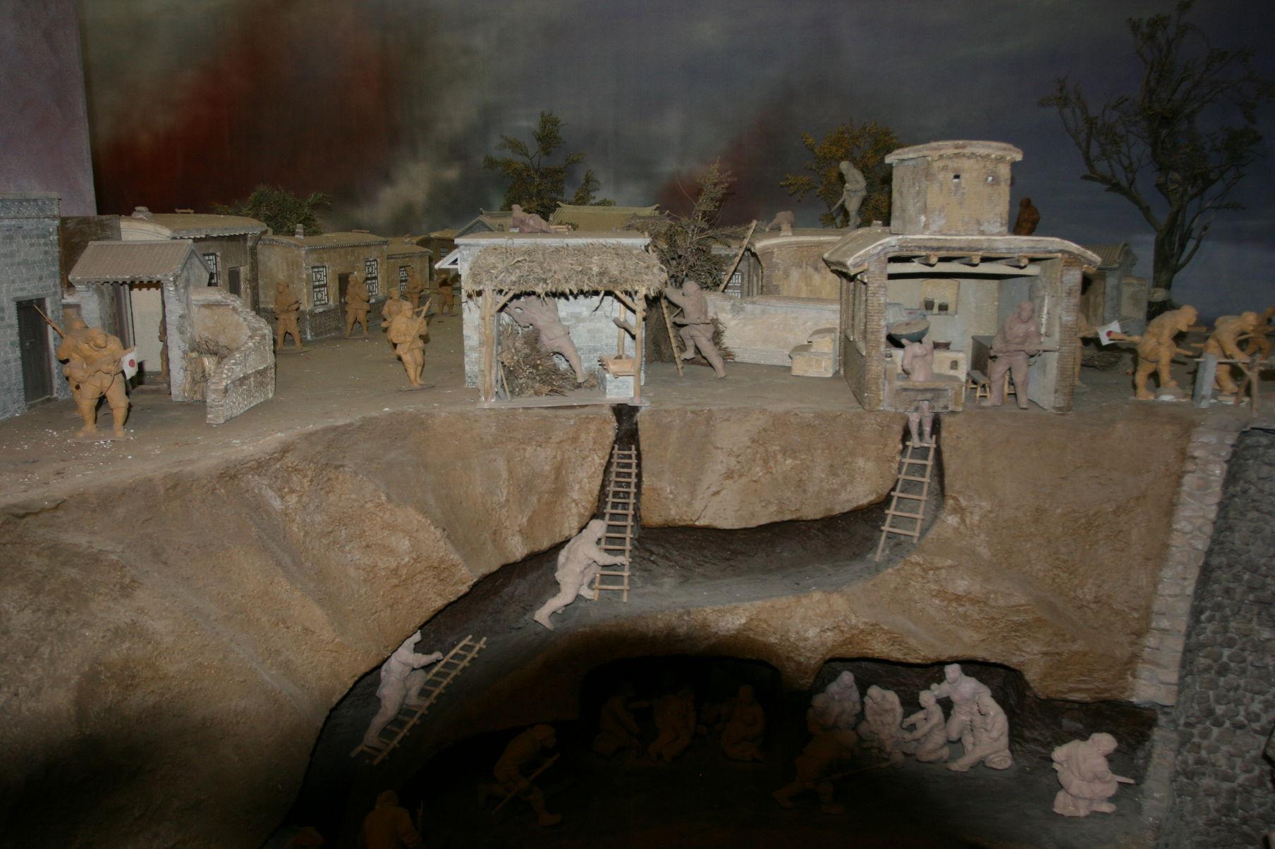 地道战电影_他们的事迹被改编成了电影英雄的冉庄民兵先后作战157次,其中进行地道