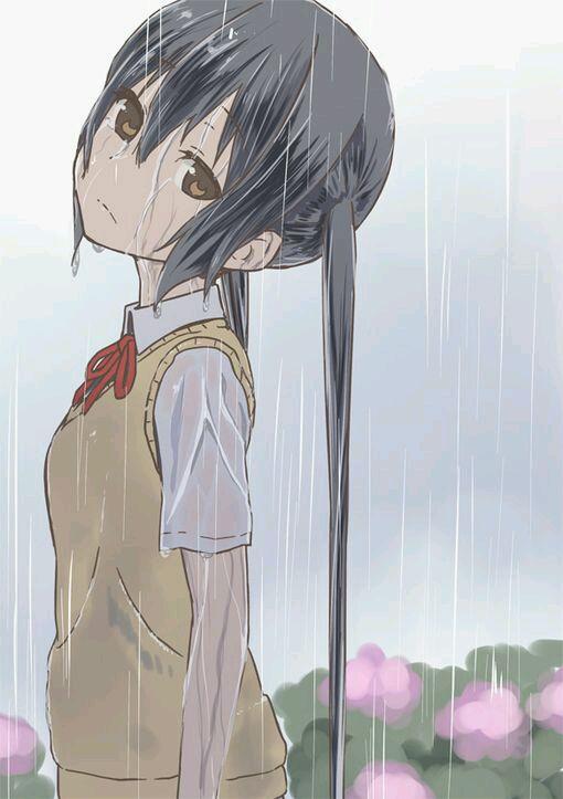 动漫女孩哭的头像_给我几个漫画少女流泪的图片_百度知道