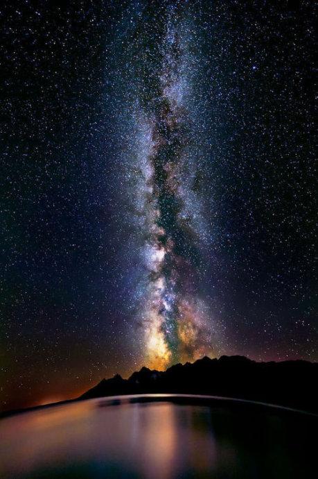 满天星空壁纸_谁能给几张繁星满天的星空图片。没见过像样的星空,看了动画 ...