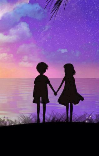 小女孩和小男孩_喜欢的女孩和别人牵手,5岁男孩强颜欢笑,面对失恋真诚