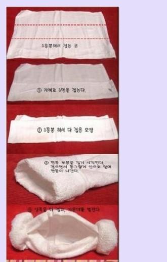 叠毛巾帽_韩国羊角帽的折法_百度知道