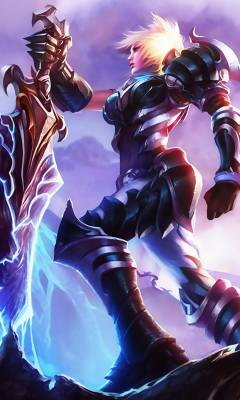 英雄聯盟放逐之刃那款皮膚技能有特效.看起好看.圖片