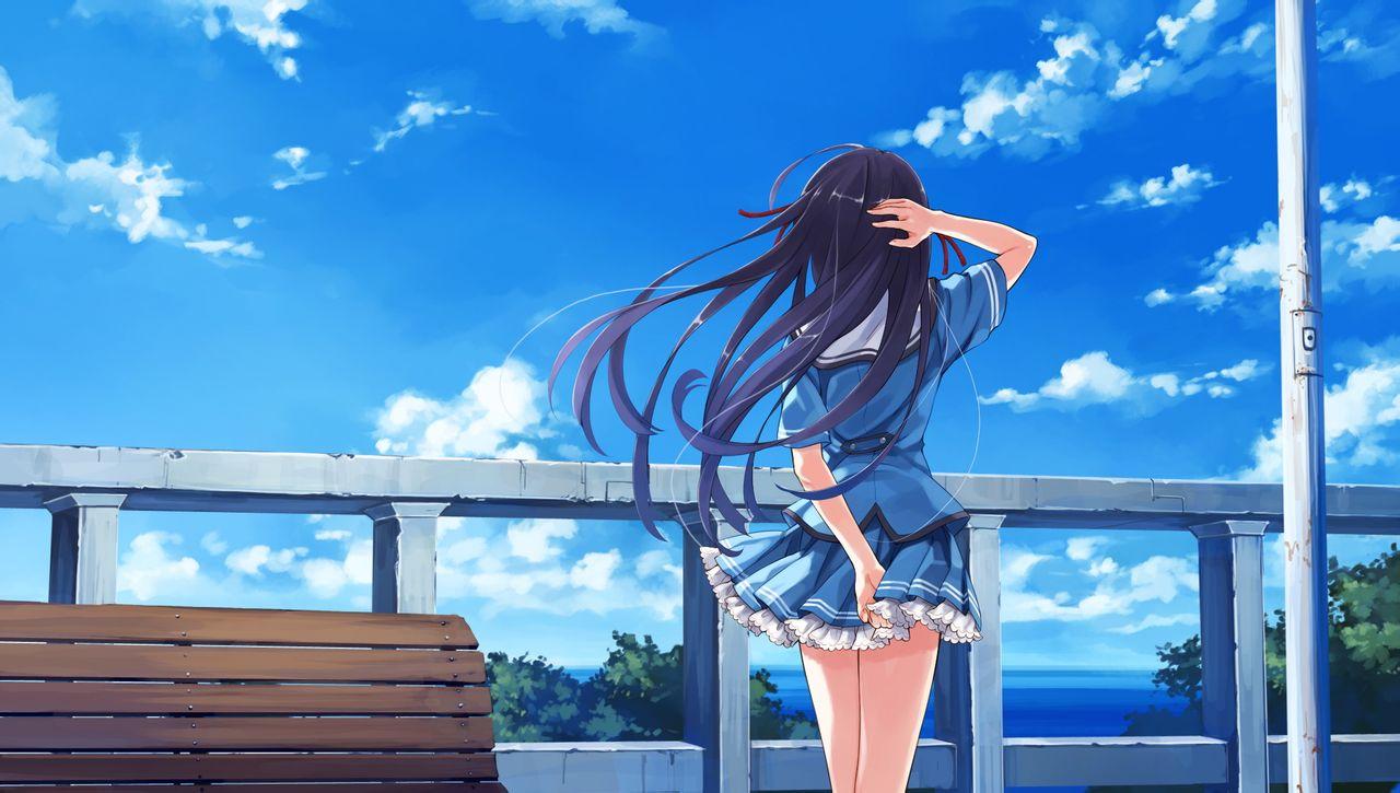 25 Anime Wallpapers Hd Download Free Stunning Hd: 求唯美的动漫图片,女孩,最好是背影。越多越好,谢谢。_百度知道