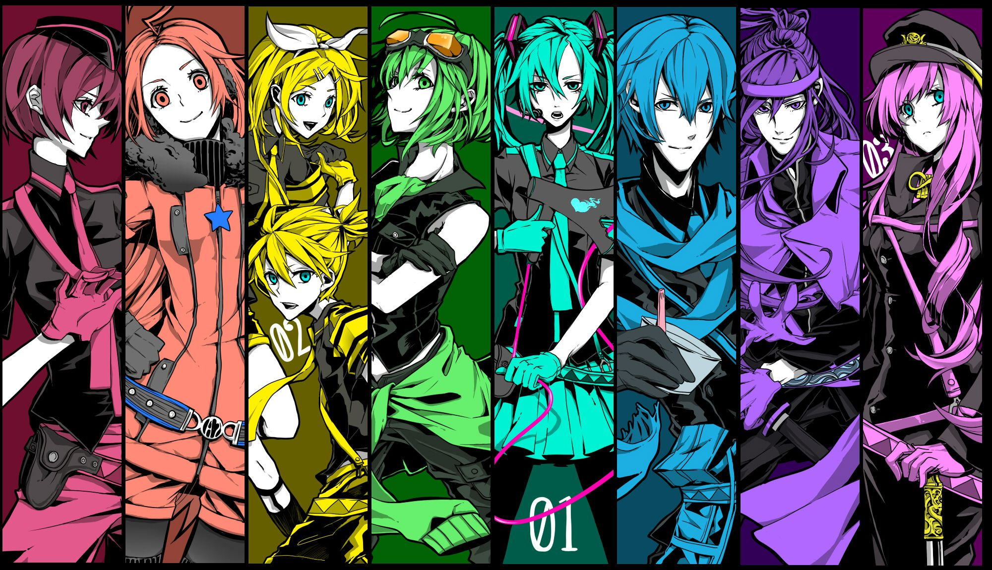 Vocaloid Wallpaper Rin Vocaloid求图�...