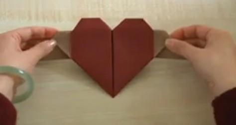 长方形折爱心的方法_怎么用长方形纸折爱心天使.等等_百度知道