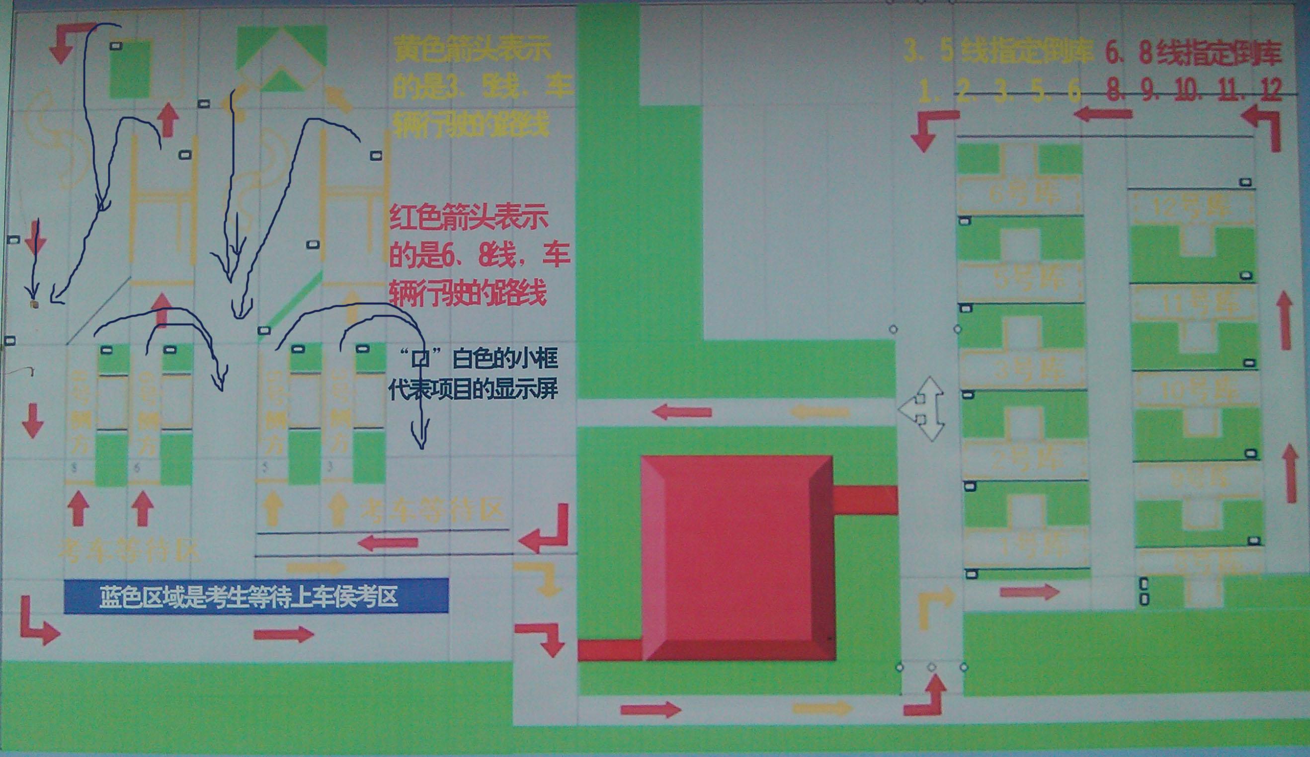 广安车管所科目二_谁知到郑州中牟县的车管所考场,描述一下科目二的场地_百度知道
