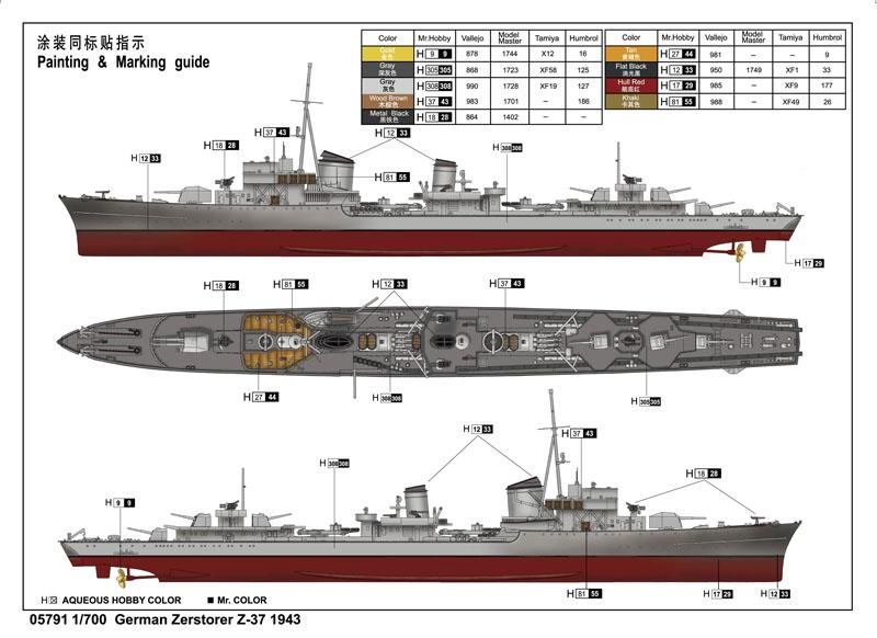 大胆级驱逐舰_二战期间最强大的驱逐舰是哪种?